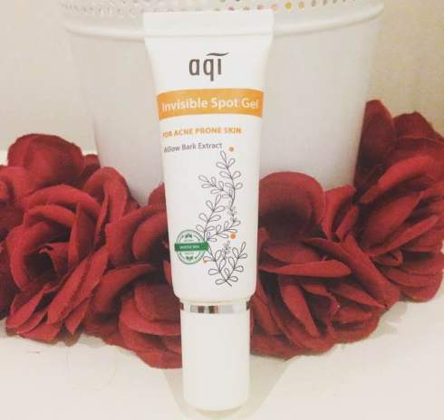 AQI Invisible Spot Gel for Acne Prone Skin Review
